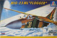 Italeri 1:72 Scale MIG-23 ML Flogger Plastic Model Kit 1996 No 057