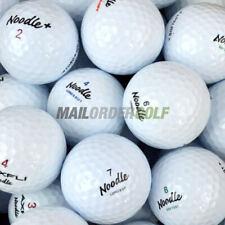 Maxfli Noodle Lake Golf Balls Grade A 12 24 40 72 100 White Optic
