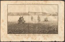 More details for 1779 ca antique print- jersey - view of st hillary
