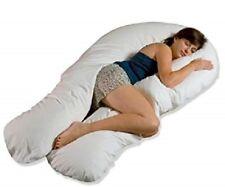 12FT Grande Forma de U Cuerpo Completo Y Trasero Soporte Maternidad Embarazo Almohada de confort