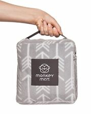 Original Plush Monkey Mat 5' x 5' Ultra Compact Soft Waterproof Blanket NEW