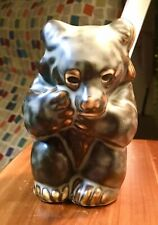 Mid Century Royal Copenhagen Porcelain Bear Figurine