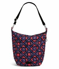 Vera Bradley Carson Tile Medallions Hobo Bag Crossbody Purse