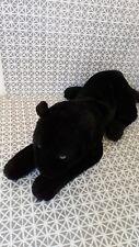 Peluche doudou panthère noire 35 cm sans la queue Anna Club Plush
