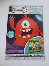 Colorforms 2019 Silly Monsters Over 40 pc Set *NEW*