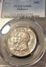 1921 Alabama Commemorative Half Dollar PCGS MS 66 Only 5 Coins In PCGS MS67