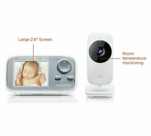 Motorola MBP482 Digital Video Baby Monitor (B+)
