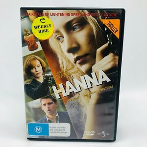 Hanna (DVD, 2011) Regions 2&4 With Saoirse Ronan In Very Good Condition
