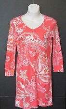 Lilly Pulitzer Womens Size X Small Corine Dress Glamorous Life Orange Pink White