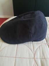 New Mens Navy Flat Cap Extra Large With Tags