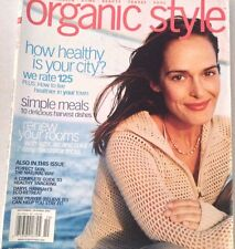 Organic Style Magazine How Healthy Is Your City October 2003 072317nonrh