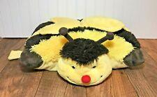 "Pillow Pets Pee Wee Bumble Bee 16"" Plush, Black & Yellow"