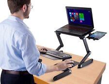 iCraze Adjustable Sit Stand Desk for Laptops & Desktops
