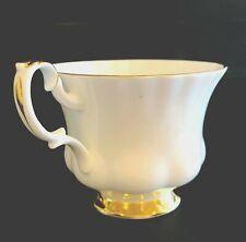 Royal Albert VAL D'OR Tea Cup - Vintage English Bone China