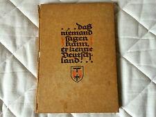 """Libro propaganda Nazi-Fascista """"Monaco capitale del movimento"""",1939, buono stato"""