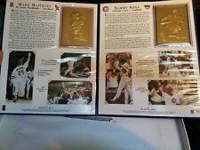 Danbury Mint Mark McGwire and Sammy Sosa 1998 Breaking The Home Run Record