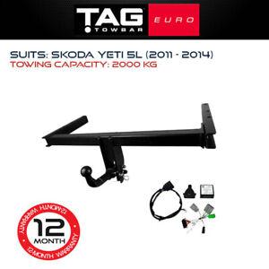 TAG Euro Towbar Fits Skoda Yeti 2011 - 2014 Towing Capacity 2000Kg 4x4 4WD