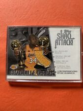 2002-03 Topps Shaq Attack SA5 Game Used Jersey Shaquille O'Neal