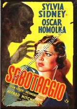 SABOTAGGIO (1936) Alfred Hitchcock - DVD NUOVO