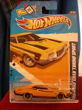 Hot Wheels '72 Ford Gran Torino Sport Muscle Mania yellow