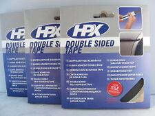 3 Stück doppelseitiges Klebeband/Schaumstoff  12 mm x 10 m Doppelklebeband ZC04