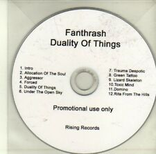 (CI831) Fanthrash, Duality of Things - DJ CD