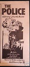 """1980 The Police """"Zenyatta Mondatta"""" Album Promo Ad"""