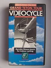 VideoCycle Grand Teton Tour Stationary Cycling 3 Complete Workouts VHS Video