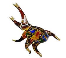 Glastier Käfer Glas Tier Glas Beetle Figur Glasfiguren Kristall Figuren Kristall