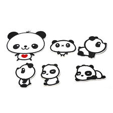 Best Sweet Pandas Embroidery Cloth Iron On Patch Sew Motif Applique Tools WL