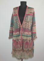 IVKO womens cardigan wrap robe Size 44