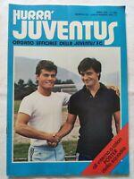 HURRA' JUVENTUS N. 7-8 LUGLIO 1979 + POSTER A COLORI SQUADRA PAOLO ROSSI ZOFF
