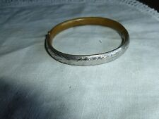 FINE VINTAGE MONET BRACELET,BANGLE WITH INTERESTING CLASP!