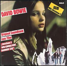 DAVID BOWIE - Original Soundtrack - Christiane F. - LP