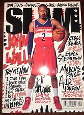 John Wall Autographed Signed Slam Magazine Washington Wizards All Star