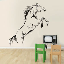 Jumping Horse Wall Art Stickers PVC Decal Stylish Home Graphics Lounge Bedroom