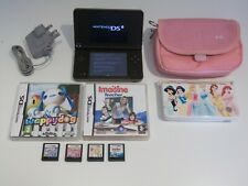 Nintendo DSi XL  Console Burgundy with Games