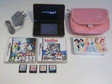 Nintendo DSi XL Consola Borgoña Con Juegos
