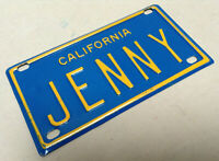 Louisiana personalized kids bicycle size 3x6 inch aluminum novelty license plate