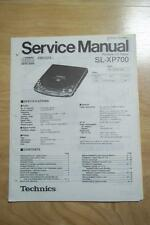 Technics Service Manual for the SL-XP700 CD Player