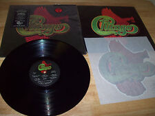 """1975 CHICAGO VIII 12"""" LP STILL IN PLASTIC includes IRON-ON PATCH vinyl EXCELLENT"""