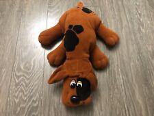 "Tonka Pound Puppies Brown 1985 stuffed toy 18"" plush used"