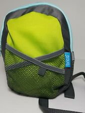 Brica By-My-Side Safety Harness Backpack, Green, Grey, Leash
