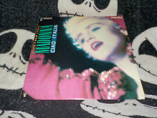 Madonna Ciao Italia Live From Italy Concert Film Laserdisc LD Free Ship$30 Order