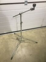 Boom Arm Cymbal Stand Drum Double Braced Hardware Accessory #ST403