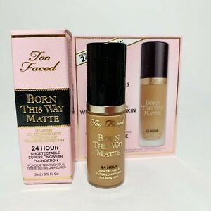 Too Faced Born This Way Undetectable Oil Free Foundation WARM SAND 5mL Mini