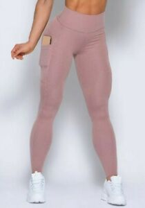 BOMBSHELL SPORTSWEAR LOUNGE RIB LEGGINGS, PINK,, SIZE XL, EXCELLENT CONDITION