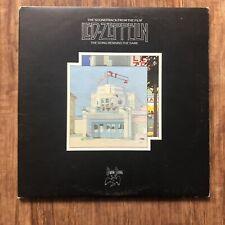 Led Zeppelin The Song Remains The Same Album Soundtrack Vinyl X2LP Gatefold