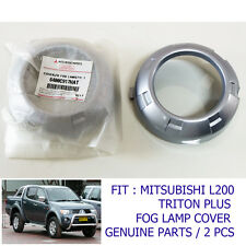 2008-2010 For Mitsubishi L200 Triton Plus Fog Lamp Cover Trim Genuine Part Set
