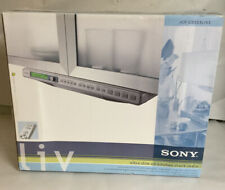 New listing New In Box Sony Icf-cd553Rm Under Cabinet Cd Clock Radio Weather Am/Fm W/Remote